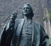Wesley statue