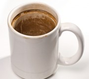 dirty cup