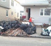 sandy cleanup