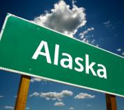 Alaska Road Sign